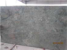 China Green Granite Slab Available 2cm & 3cm for Exterior Decoration