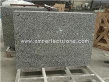 Swan White Dallas Granite 68x40x0.75 Countertops Goose Grey Gray Cheap Stone
