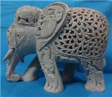 Soapstone Carved Elephant