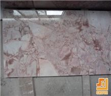Rose Cream Marble Tile for Exterior&Interior Wall,Floor Applications
