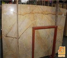 Yellow River Marble Slab with Turkey Price Stone Tile for Wall Covers