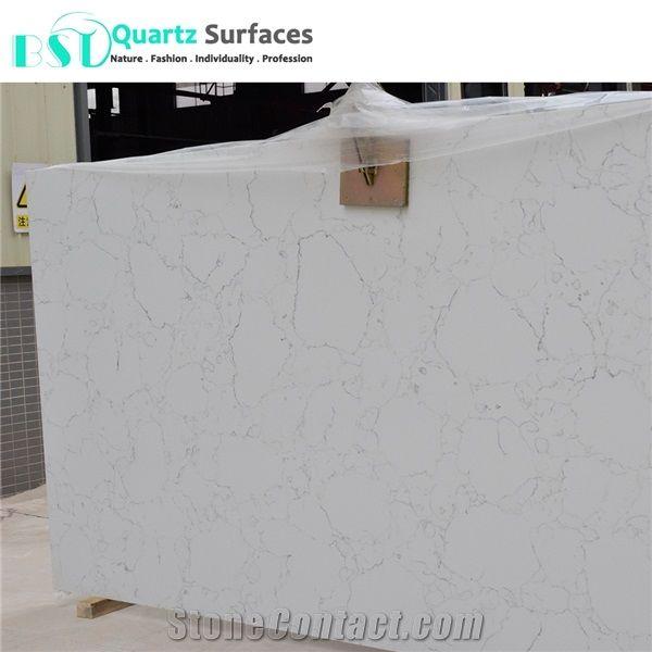 Carrera White Artificial Quartz Stone