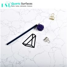 Carrara Custom Cut White Marble Quartz Table Tops