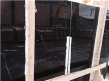 Konya Absolute Black Marble Slabs & Tiles, Turkey Black Marble