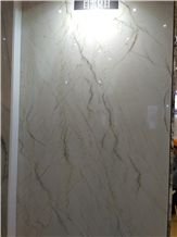 China White Cloud Marble, Sunlight White Marble