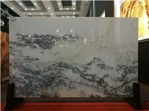 Landscape Painting Marble Slabs & Tiles,Black Veins Marble Wall Cover