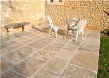 French Limestone Tiles All Shades Of Ochers - Limeyrat Gold Limestone