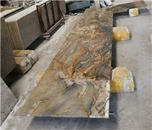 Fusion Quartzite /Brazil Multicolor Countertops