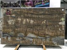 Shangri La Brown Quartzite Polished Tiles&Slabs for Countertop