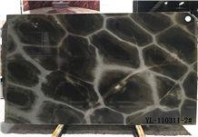 Turtle Illusion / Brazil High Quality Green Quartzite Tiles & Slabs