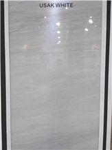 Usak White Pearl Marble, Usak White Marble Slabs, Tiles