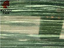 Unique Chinese Wood Green Grain Granite Slabs
