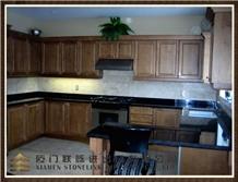 Antique Brown Kitchen Countertop, Kitchen Design