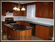 Brown Suede Kitchen Countertop, Kitchen Design