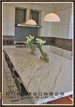 Marble Kitchen Countertop, Kitchen Design