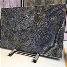 Luxurious Blue Azul Bahia Brazil Granite Slab