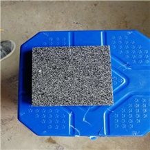New G654 Padang Black Granite Flamed Surface