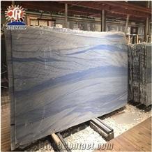 Polished Grand Skylight Blue Sky Quartzite Slab