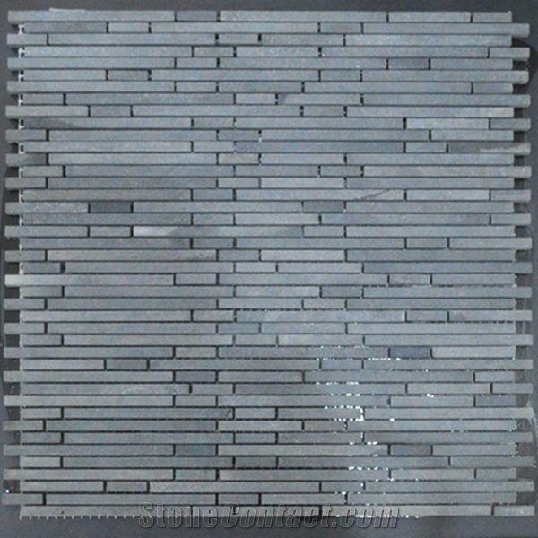 Andesite Mosaic Tile for Bath Wall or Kitchen Back Splash ...