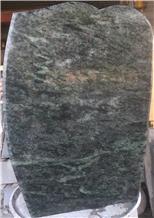Tropical Green Granite Gravestone