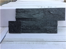 China Black Slate Stacked Stone Veneer