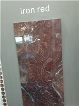 Iron Red Marble Slabs