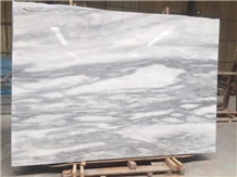 White Cloud Marble Slabs Walling Tile China Grey