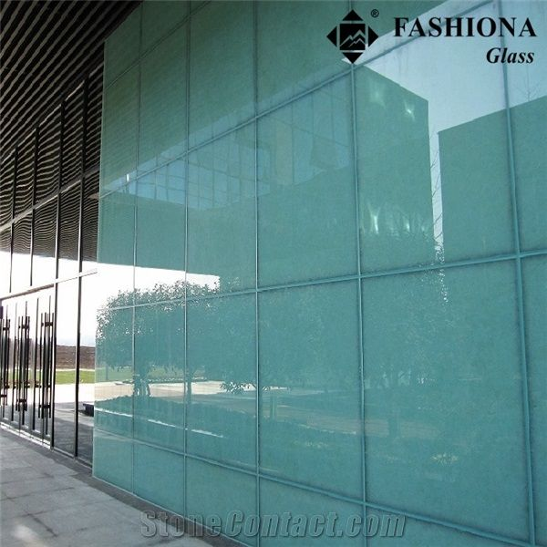 Exterior Wall Cladding Special Laminated Glass From China Stonecontact Com