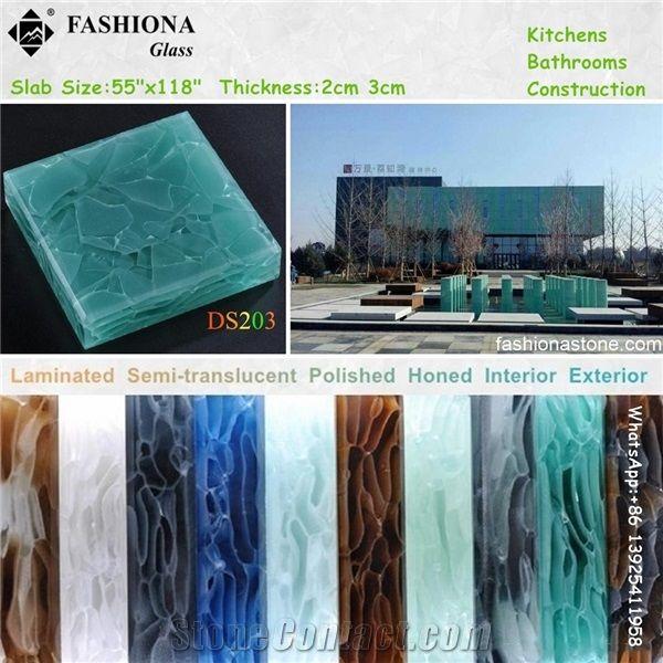 Translucent Laminated Glass Exterior Wall Cladding Foshan Fashionastone Co Ltd