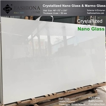 White Nano Glass Slab,Interior & Exterior
