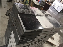 China Black Granite Cube Stone Pavers Sets