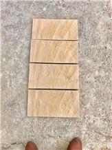 Yellow Sandstone Split Mushroom Wall Cladding Tile