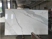 Calacatta Oro Marble Natural Stone Honeycomb Panel