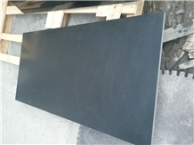 Honed Hebei Black Granite Floor Covering Tile Slab