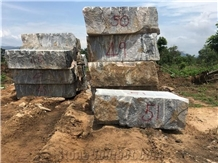Kporoko African Multicolour (Amc) Granite Blocks