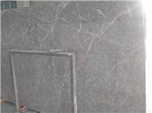Hermes Grey Marble Slab/Tile for Wall Cladding