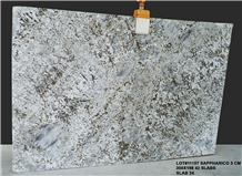 India Alaska White Granite Slabs 2cm, 3cm