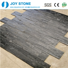 Chinese Black Slate Thin Cultured Stone Venner