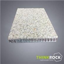 G682 Yellow Granite Aluminum Honeycomb-Back Panel