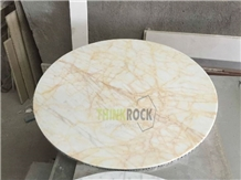 Marble Composite Aluminum Honeycomb Round Tables