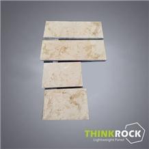 Sunny Beige Marble Honeycomb Floor & Wall Panels
