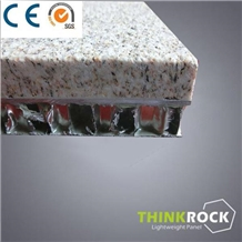 Yellow Diamond Granite Honeycomb Sandwich Panel