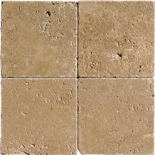 Tumbled Walnut Travertine Tiles