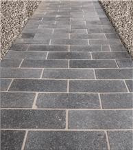 Belgian Blue Stone Tumbled Walkway Pavers