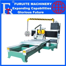 Plc Stone Marble Profiling Machine Slab Shapes Cut