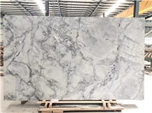 Natural Calacatta Grey Super White Quartzite Slabs