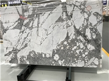 Winter Cold River Snow Marble Slabs,Floor Tiles