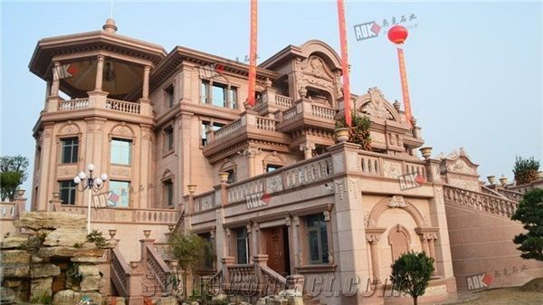 Private Villas Exterior Wall Decoration Granite from China ...
