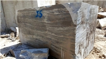 Silver Export Travertine, Turkey Silver Travertine Block