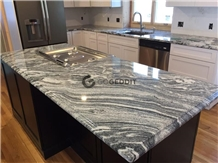 Viscont White Granite Kitchen Countertop